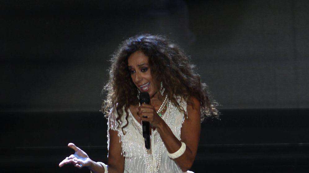 Foto:  Rosario, todo un torbellino en el escenario. (Getty)