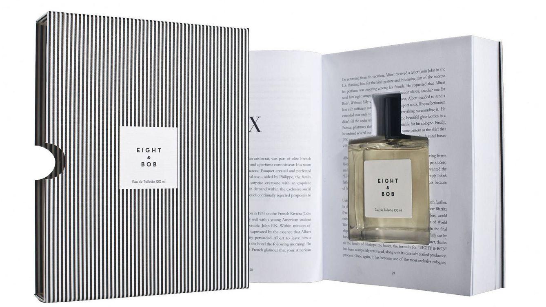 Foto: El bueno de Philippe enviaba los frascos en un libro troquelado, pera evitar la vigilancia de los nazis.