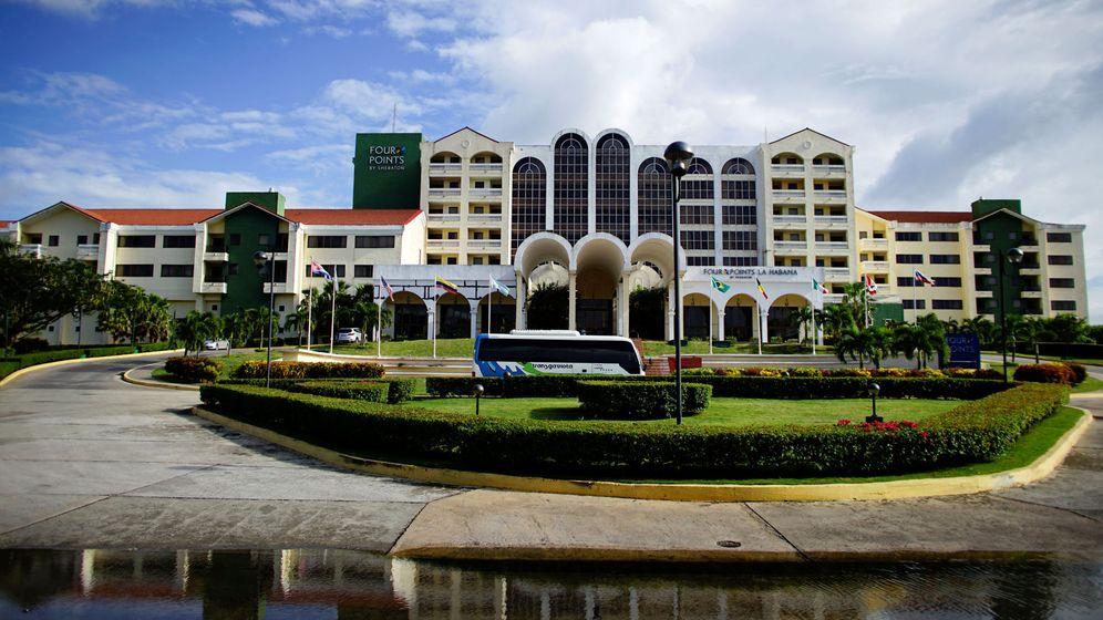 Foto: Un hotel Sheraton, operado por Starwood (propiedad de Marriott). (Reuters)