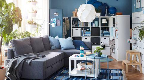 Renueva un salón pequeño con Ikea, Maisons du Monde y Leroy Merlin