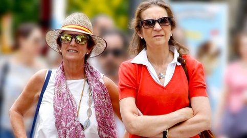 ¿Qué hacía la infanta Elena mientras Froilán y Victoria Federica estaban en Marbella?