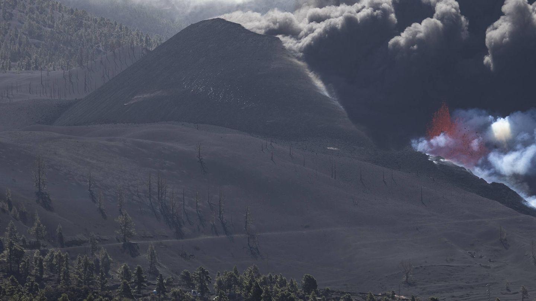 Vista del volcán de Cumbre Vieja. (Alejandro Martínez Vélez)