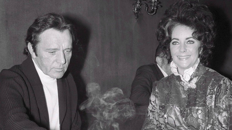 Taylor y Burton, en 1972. (EFE)