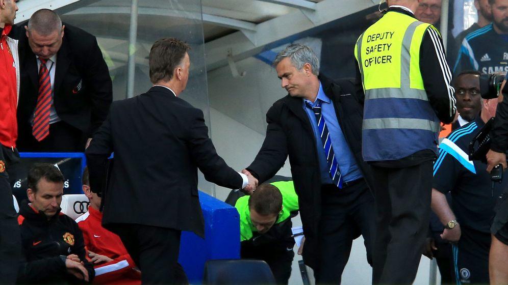 Foto: ¿Sustituirá Mourinho a Van Gaal? (Cordon Press/Nick Potts/PA Wire).