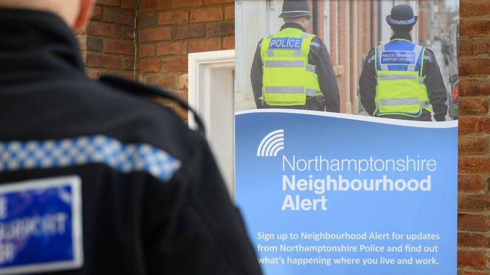 Foto: El incidente se produjo cerca de la ciudad de Kettering, en el condado de Northamptonshire. (Northamptonshire Police)