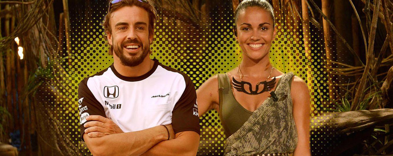 Foto: 'Supervivientes': el viaje secreto de Fernando Alonso para ver a Lara Álvarez