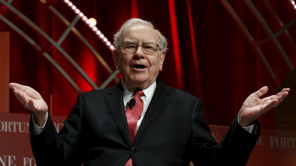 Foto: Warren Buffett, ceo de Berkshire Hataway (Reuters)