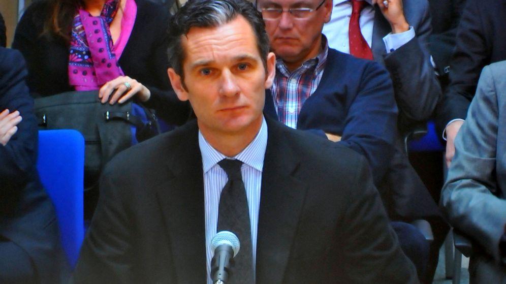 Foto: Iñaki Urdangarín en su declaración durante el juicio por el caso Nóos (Gtres)