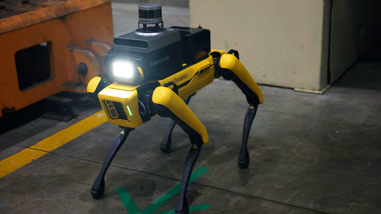 El robot cuenta con una cámara térmica y un sistema LiDAR 3D.