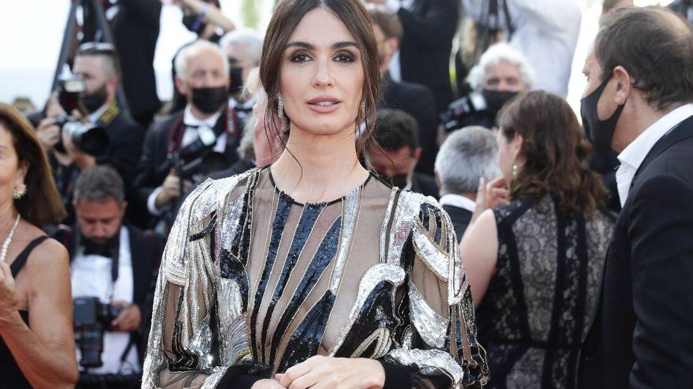 Paz Vega, impresionante en Cannes. (Getty)