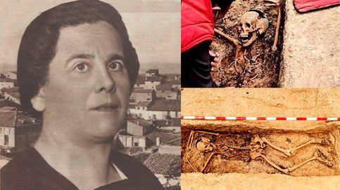 Así hallaron los restos de la primera alcaldesa democrática (y fusilada)