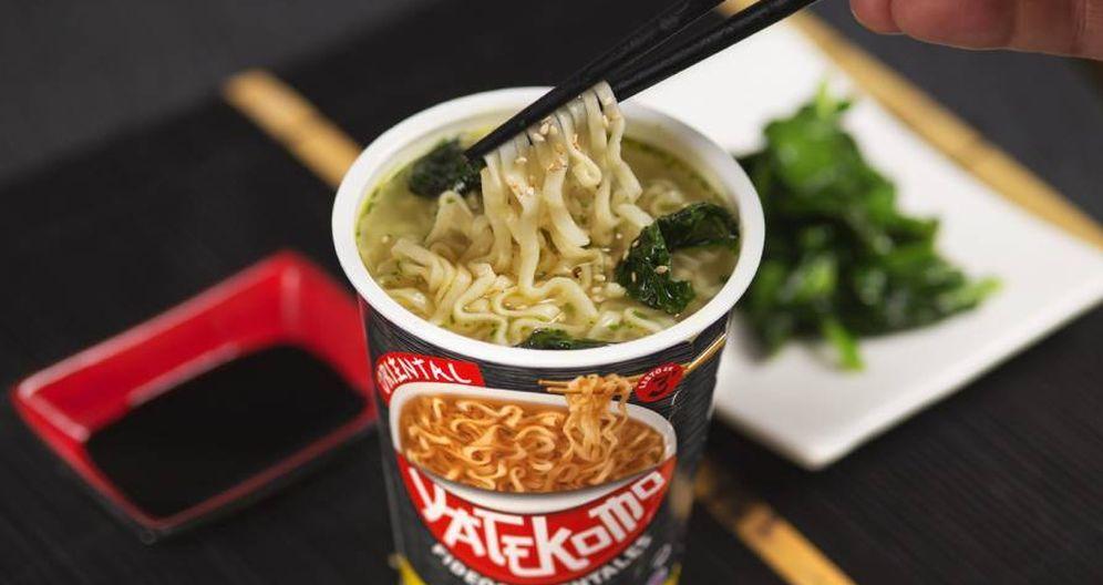 Foto: La marca Yatekomo es propiedad de la catalana The GB Foods.