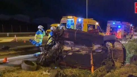 Heridos cinco jóvenes, tres de ellos graves, en un accidente de tráfico en Fuenlabrada
