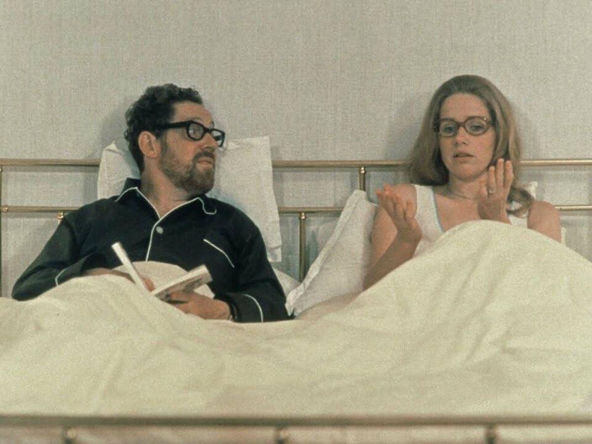 Foto: Erland Josephson y Liv Ullman, en 'Secretos de un matrimonio', de Ingmar Bergman.
