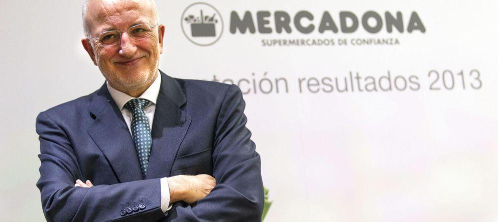 Foto: El presidente de Mercadona, Juan Roig, durante la presentación de los resultados. (EFE)
