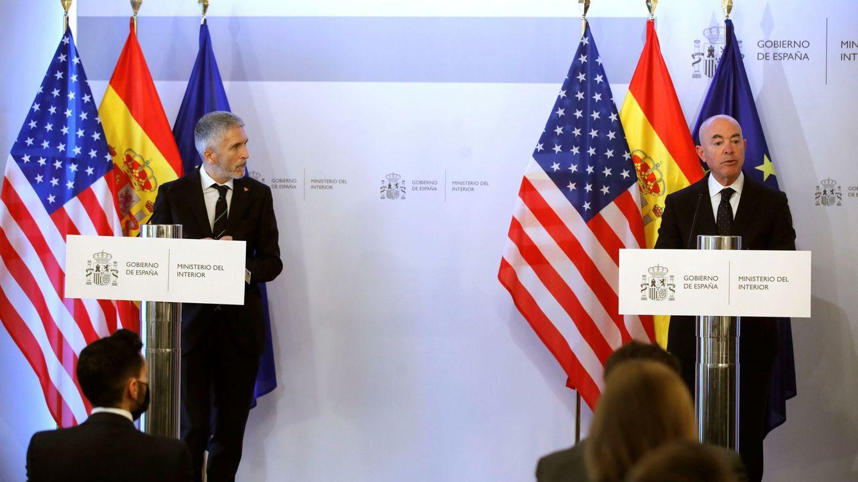 Marlaska y el secretario de Seguridad de EEUU: no hubo una crisis migratoria en Ceuta