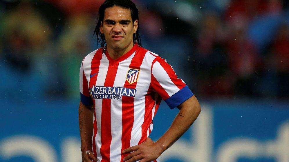 Foto: Imagen de archivo de la etapa de Radamel Falcao en el Atlético de Madrid. (Reuters)