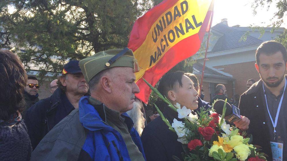 Foto: Descubrimos al chino más facha de España: Franco es el único que tuvo huevos. (R. Ballesteros)