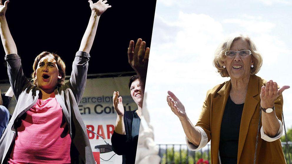 Ada Colau y Manuela Carmena: así son los hijos de las alcaldables de Madrid y Barcelona