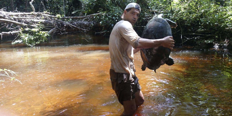 Foto: Fotografía facilitada por Discovery Max de Frank Cuesta, el aventurero conocido como Frank de la Jungla (Efe).