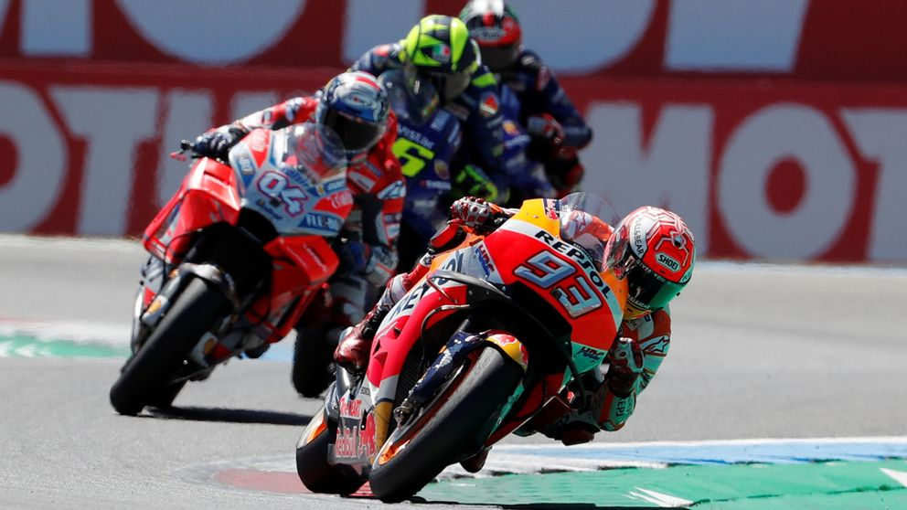 Márquez gana la mejor carrera del año, pero llena de espejismos