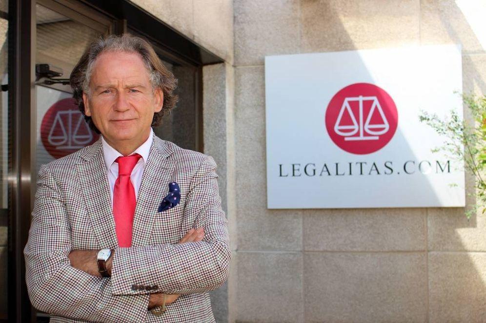 Foto: El presidente de Legálitas, Alfonso Carrascosa.