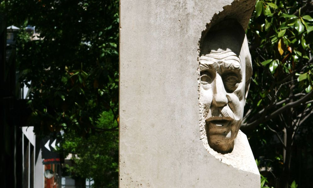 Foto: La estatua.