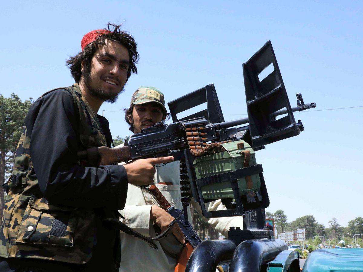 Foto: Talibanes. (Reuters)