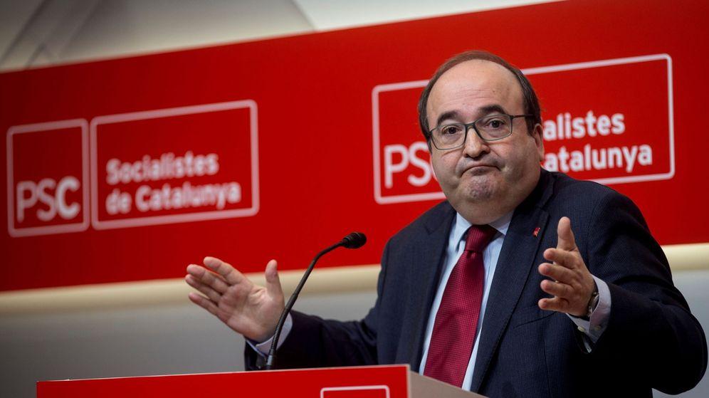 Foto: El primer secretario del PSC,Miquel Iceta. (EFE)