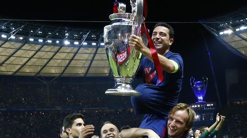Xavi se despidió levantando la Quinta y pendiente de una cosa: no perder la pelota