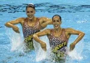 España logra su segunda medalla con un bronce en dúo técnico de sincronizada