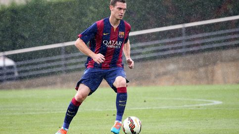 Vermaelen entra por primera vez en una convocatoria del Barcelona