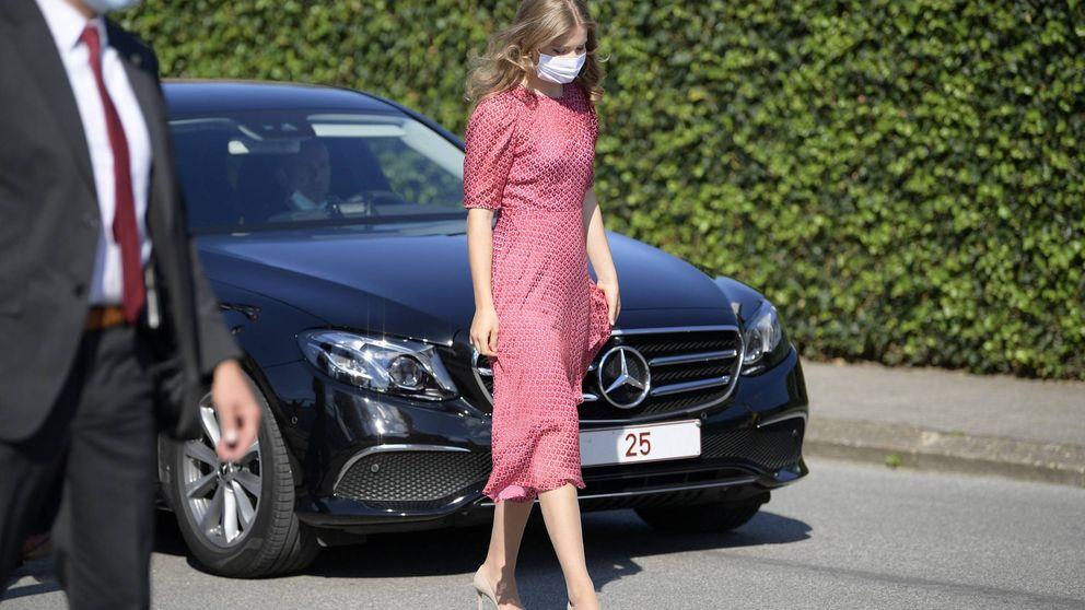 Elisabeth estrena un vestido ideal de una marca fetiche de Kate Middleton