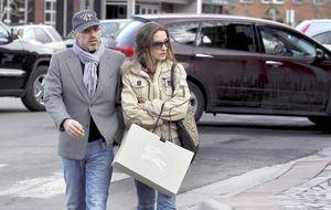 Telma Ortiz y Jaime del Burgo, veraneo sin divorcio