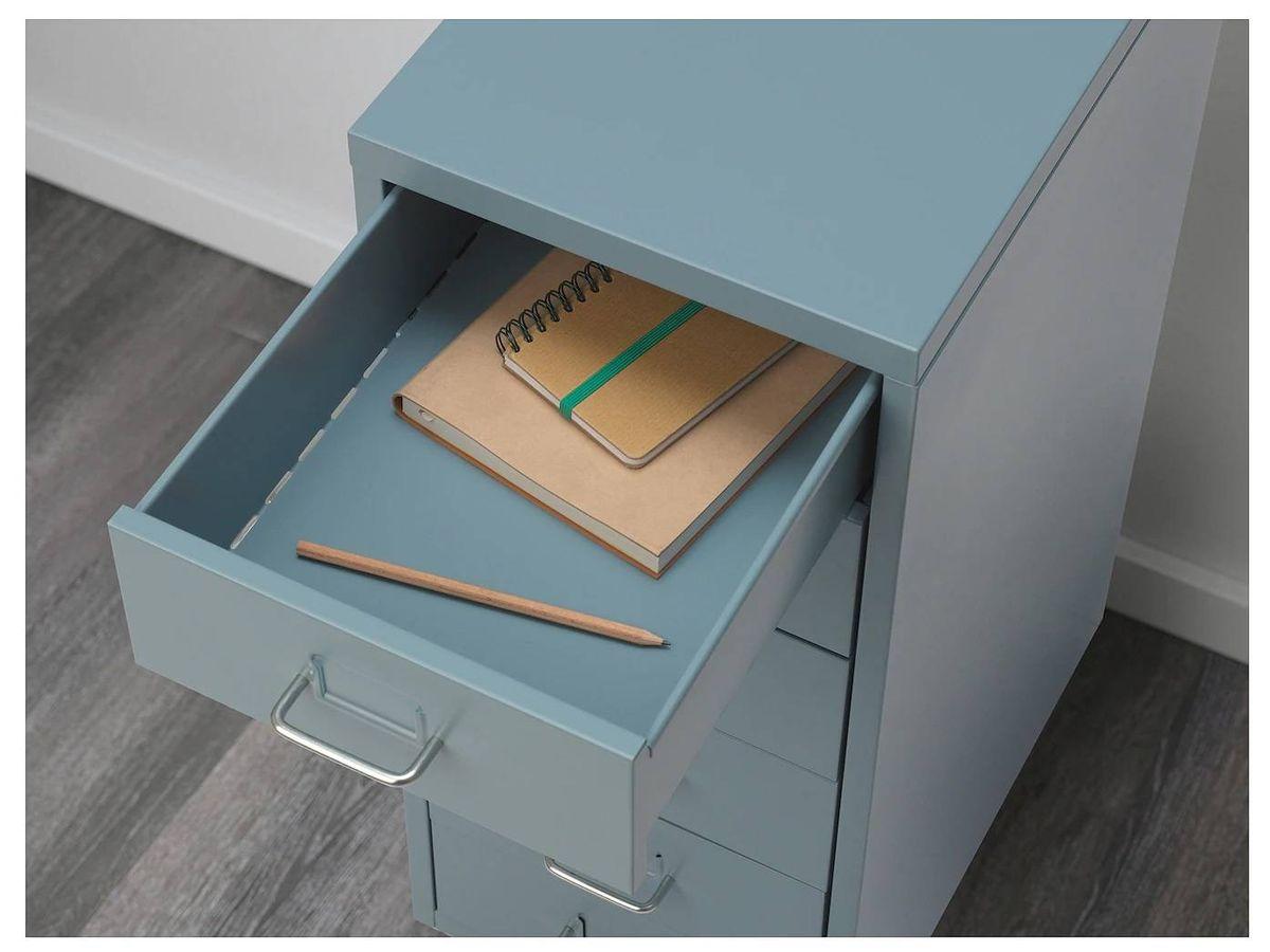 Foto: Esta cajonera de Ikea es muy práctica para tu despacho. (Cortesía)