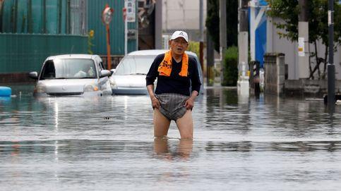 Inundaciones en Kurume y un hotel dedicado a los videojuegos: el día en fotos