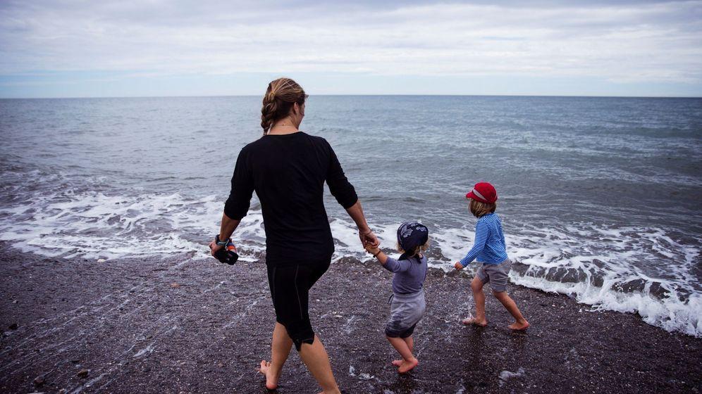 Foto: Las salidas con niños forman parte de la fase 0 de la desescalada. (EFE)