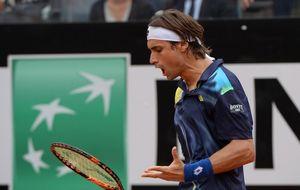 Ferrer se derrumba en el tercer set y Djokovic alcanza las semifinales