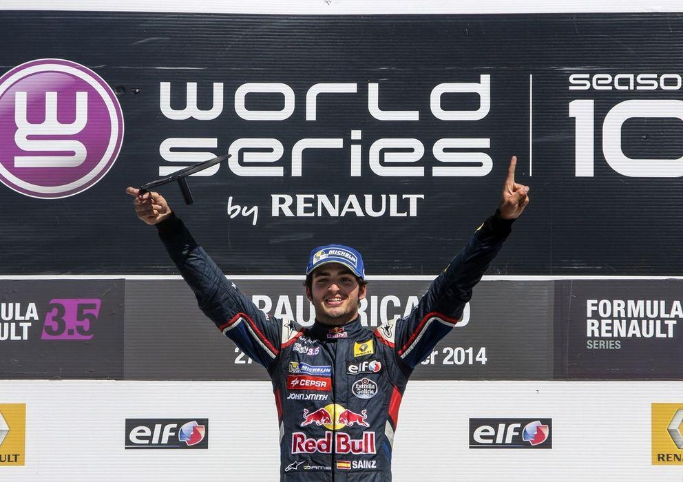 Foto: Carlos Sainz Jr en su segundo triunfo en Paul Ricard