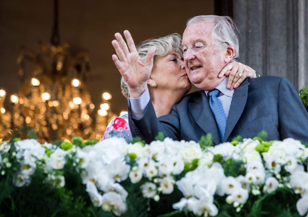Foto: Alberto II de Bélgica y su esposa Paola, en una imagen de archivo (I.C.)