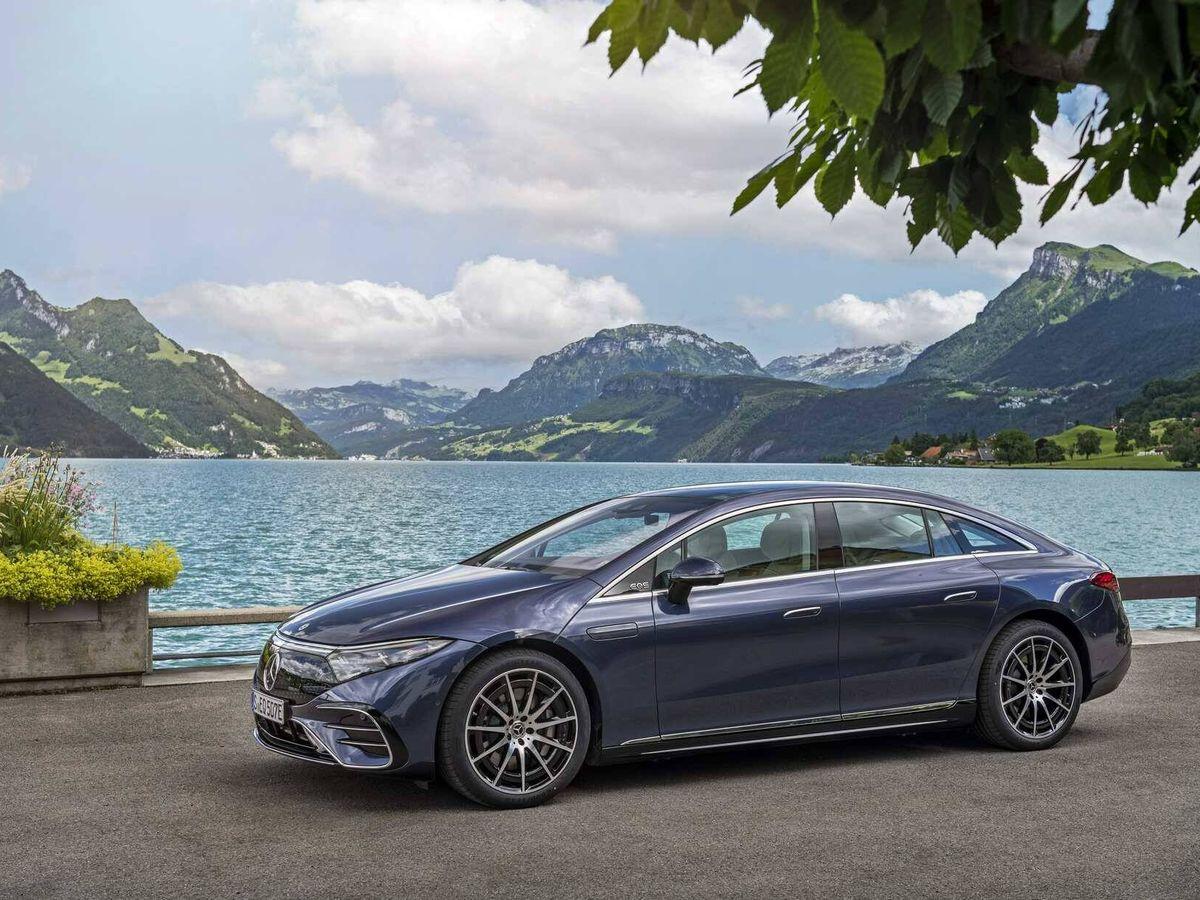 Foto: El Mercedes EQS se convertirá desde su lanzamiento en agosto en la referencia de la berlina de lujo eléctrica, sucesor del Clase S.