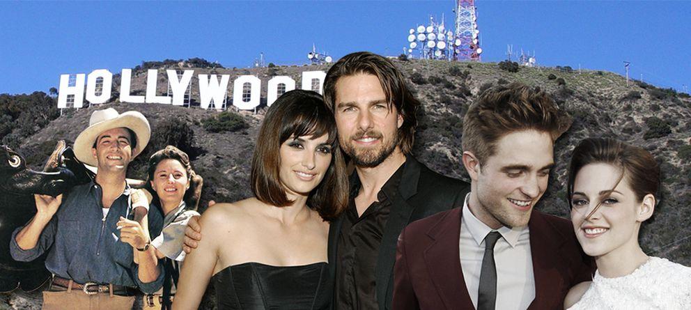 Robert Pattinson y Kristen Stewart y otros romances que parecen de mentira