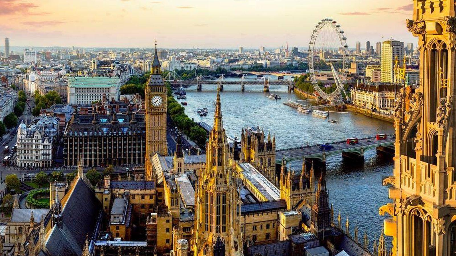 Foto: Panorámica de Londres