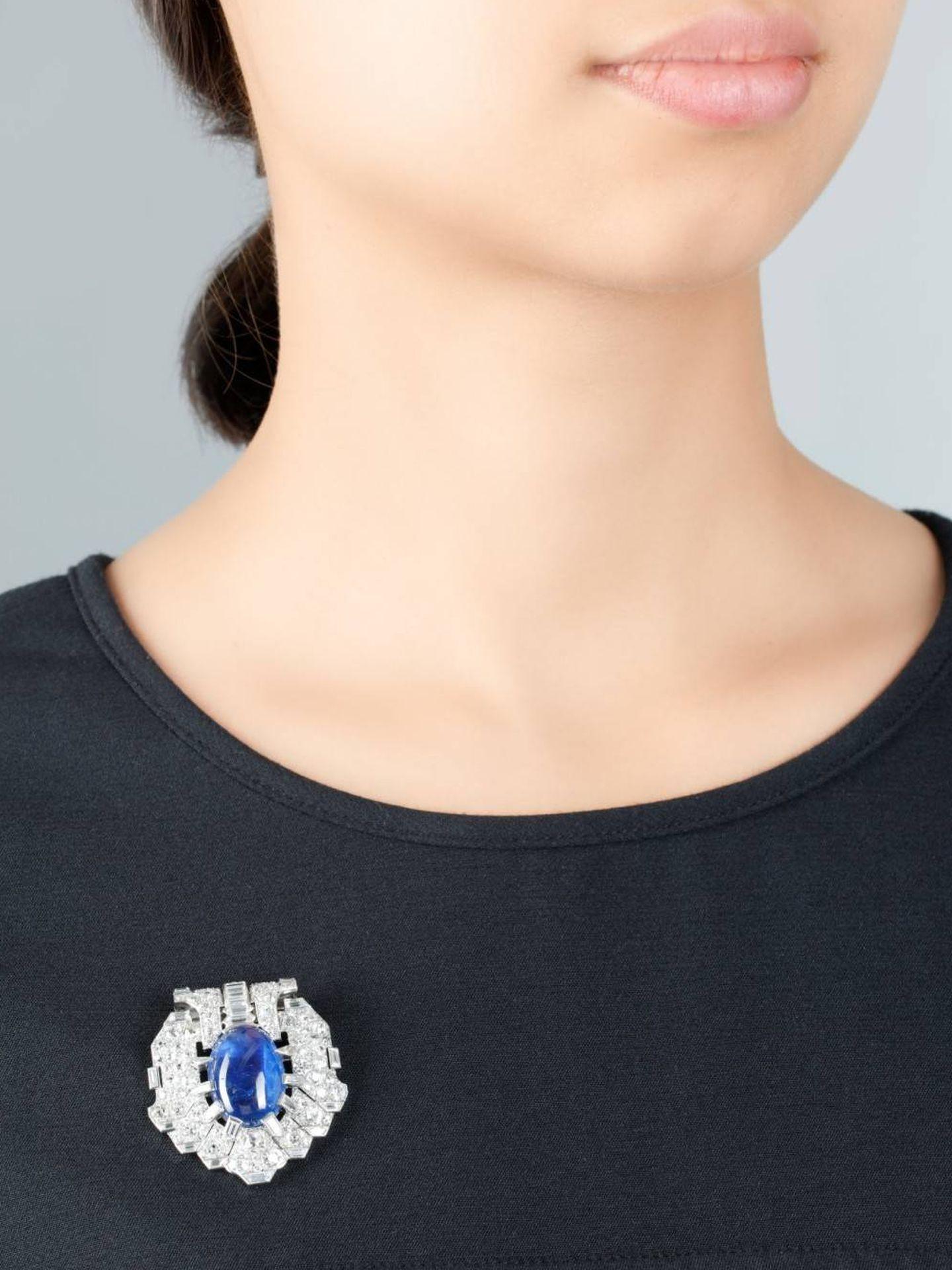 El broche de Victoria Eugenia.