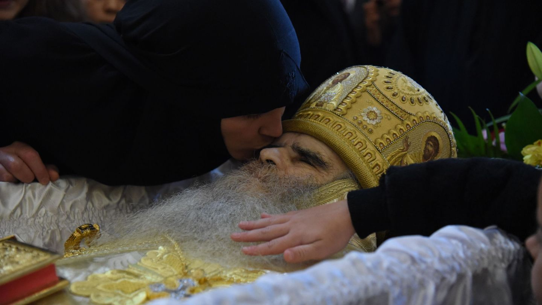 Funeral de Amfilohije. (Reuters)