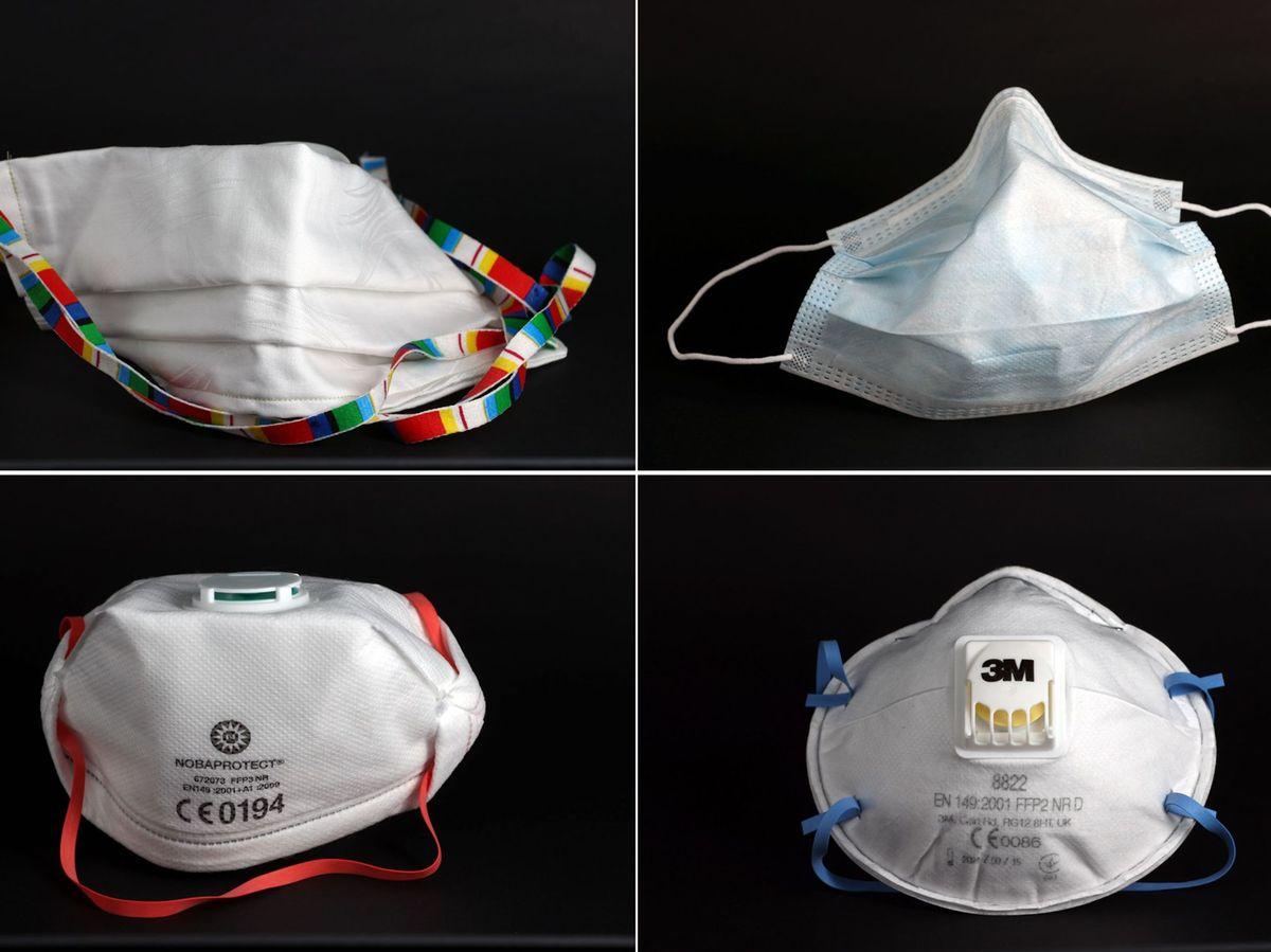 mascaras de proteção
