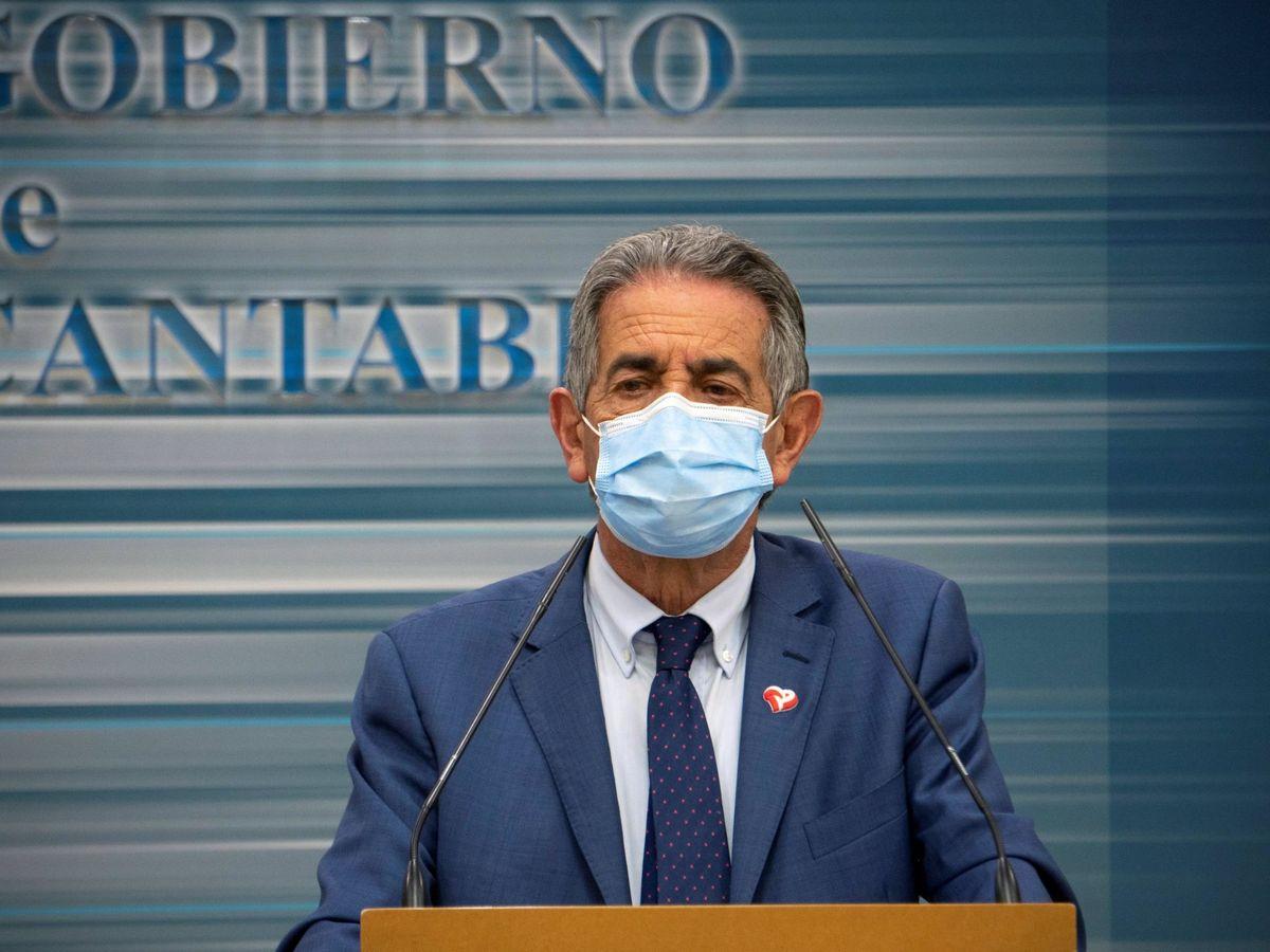 Foto: El presidente de Cantabria, Miguel Ángel Revilla. (EFE)