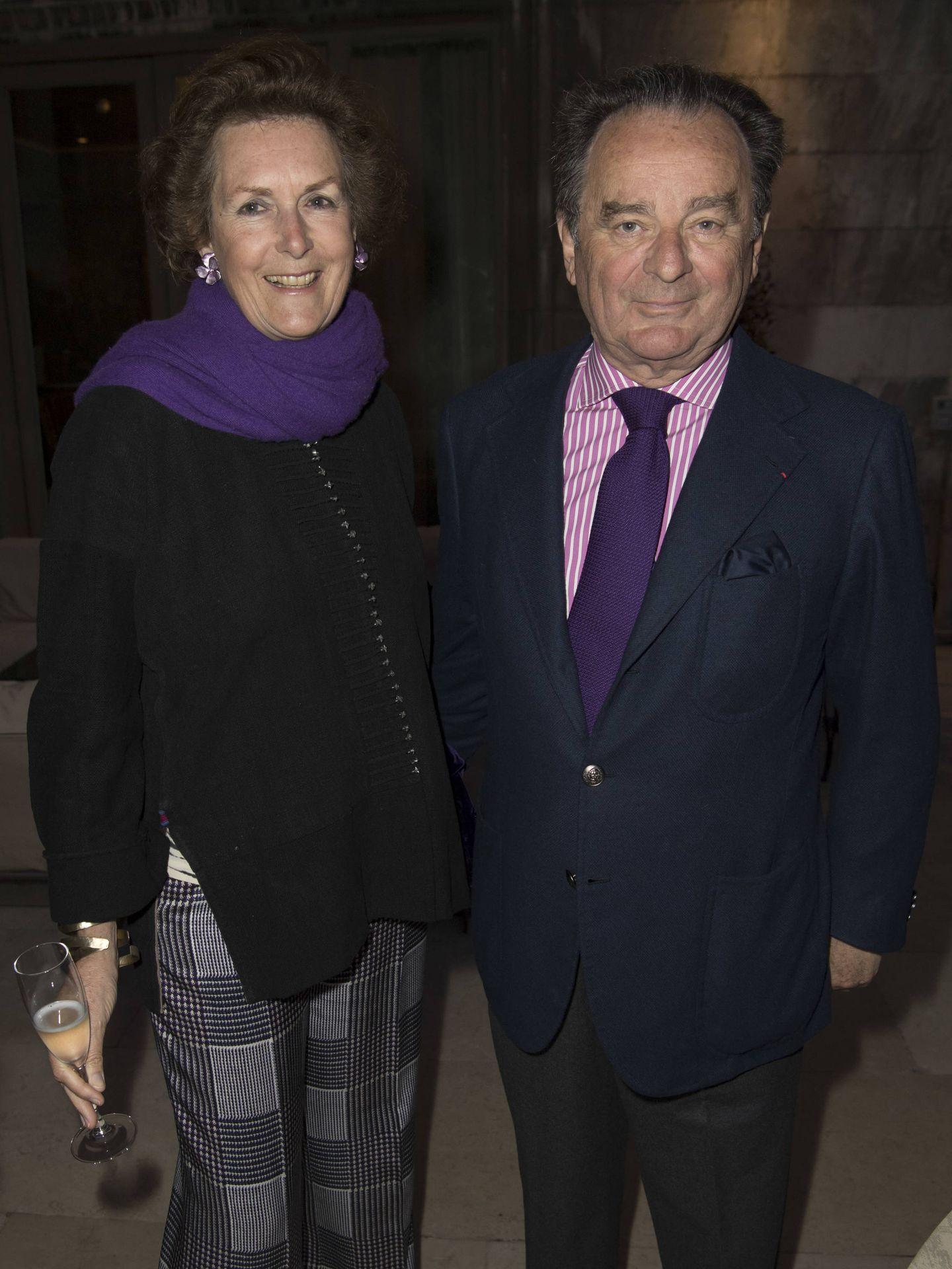 Candelita y Arnaud Brunel, suegros de Daria. (Getty)