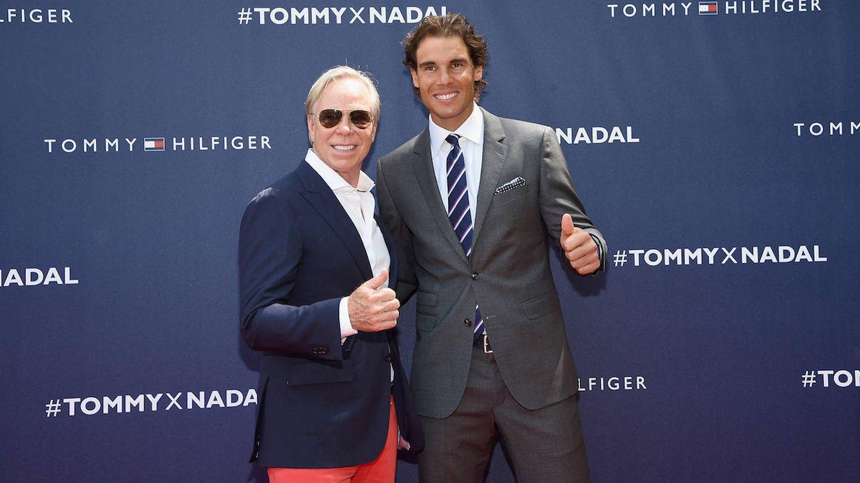 Tommy Hilfiger, con Rafa Nadal. (Getty)
