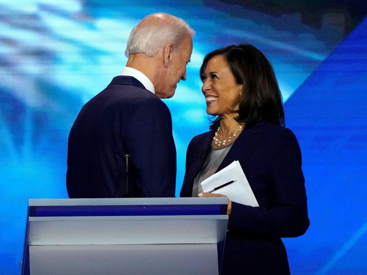 Foto: Joe Biden y Kamala Harris. (Reuters)